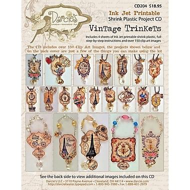 Stampers Anonymous CD204 Beige Darcie's Vintage Trinkets, 12