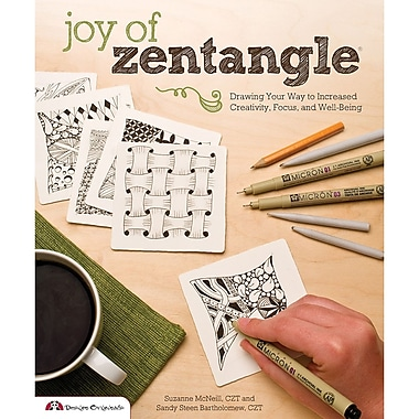 Design Originals Joy Of Zentangle Book