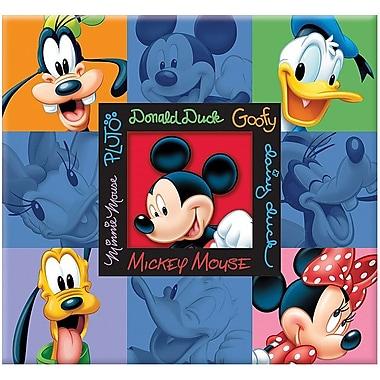 Trends International Disney Embossed Postbound Album With Window, 12