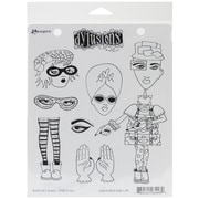 "Ranger 7"" x 8 1/2"" Dyan Reaveley's Dylusions Cling Stamp, Traveling Travis"