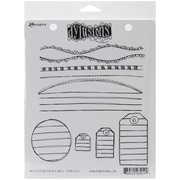 "Ranger 7"" x 8 1/2"" Dyan Reaveley's Dylusions Cling Stamp, Write Between The Lines"