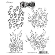 "Ranger 7"" x 8 1/2"" Dyan Reaveley's Dylusions Cling Stamp, Ocean Backgrounds"
