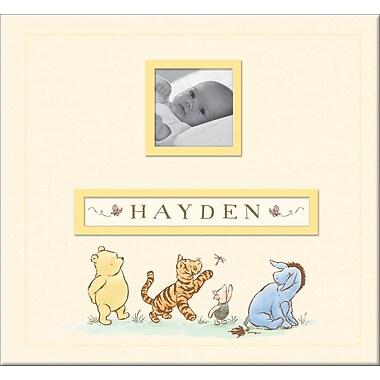 EK Success® Disney Classic Pooh Frame-A-Name Postbound Album, 12