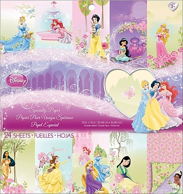 EK Success® Disney Princess Specialty Paper Pad, 12