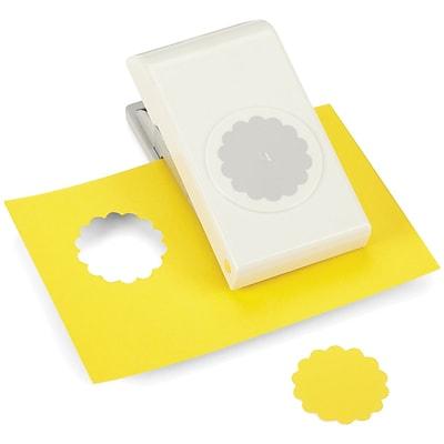 EK Success® Nesting Paper Punch, Scallop Square, 1 1/2