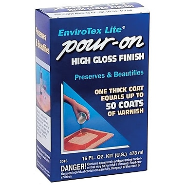 Environmental EnviroTex Lite 16 oz. Pour On High Gloss Finish (ETI02016)