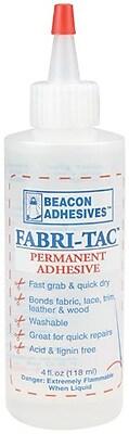 Beacon Fabri-Tac Permanent Adhesive 4 oz.