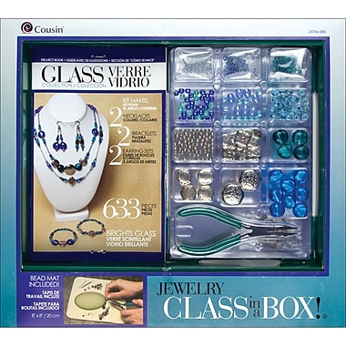 Cousin® Brights Glass Jewelry Basics Class in Box!® Kit