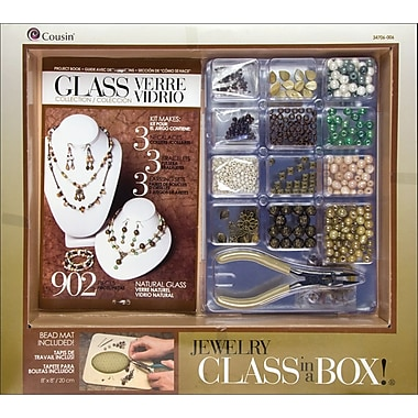 Cousin® Naturals Glass Jewelry Basics Class in a Box Kit