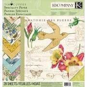 "K&Company™ Foliage Specialty Paper Pad, 12"" x 12"""