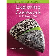 """Kalmbach Publishing Book """" Exploring Canework In Polymer Clay """""""