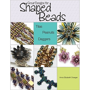 Kalmbach Publishing Book KBP-64957 Great Designs for Shaped Beads