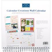 """Karen Foster Calendar Creations Wall Calendar, 12"""" x 12"""", Blank"""