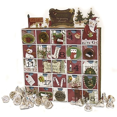 Karen Foster 3D Countdown Calendar With 25 Drawers
