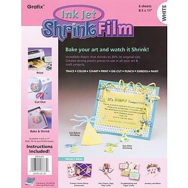 Grafix KSF6-WIJ White Ink Jet Shrink Film, 11