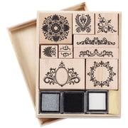 Martha Stewart Mounted Stamp Set, Flourish
