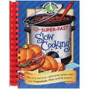 """Gooseberry Patch Cookbook """"Super-Fast Slow Cooking"""""""