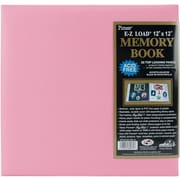 "Pioneer® Pastel Leatherette Postbound Album, 12"" x 12"", Light Pink"