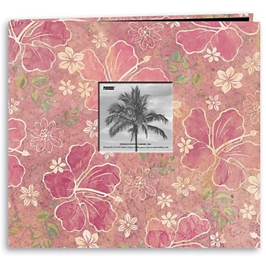 Pioneer® Tropical Postbound Album With Photo Window, 12
