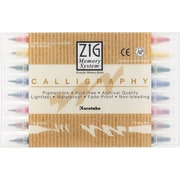 Zig Memory System 8 Piece Calligraphy Dual Tip Markers Set