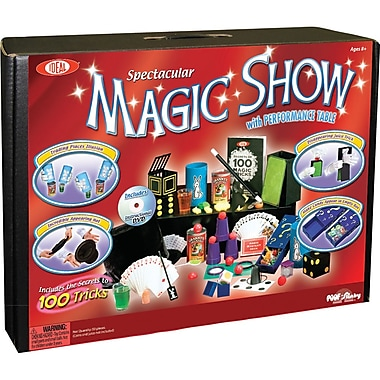 Poof Slinky® Spectacular Magic Show 100+ Trick Ultimate Magic Suitcase