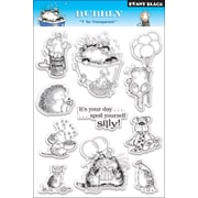 """Penny Black® 5"""" x 7 1/2"""" Clear Stamp, Bubbly"""