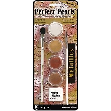 Ranger Perfect Pearls™ Pigment Powder Kits, Metallics