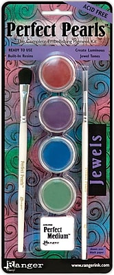 Ranger Perfect Pearls™ Pigment Powder Kits, Jewels