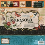 "Diecuts With A View® Mariposa Paper Stack, 12"" x 12"", 48/Pack"