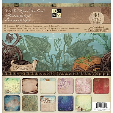 Diecuts With A View® Once Upon A Time II Paper Stack, 12