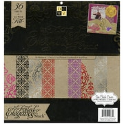 """Diecuts With A View® Elegance Paper Stack, 12"""" x 12"""", 36/Pack"""