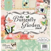 """Diecuts With A View® Butterfly Garden Paper Stack, 12"""" x 12"""", 48/Pack"""