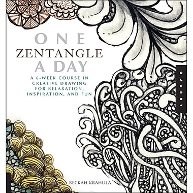 Quarry Books QU-53811 One Zentangle A Day Book