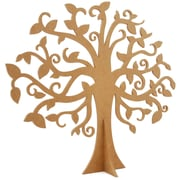 "Kaisercraft Beyond The Page MDF 17 3/4"" x 15 5/8"" Large Family Tree, Beige"