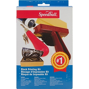 Speedball® Art Products Super Value Block Printing Starter Kit