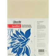 "Speedball Art Products SB4324 Beige Fine Printmaking Paper, 12"" x 9"", 25/Pack"