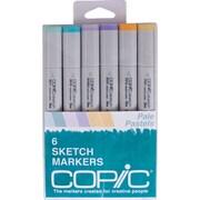 Copic® Marker 6 Piece Pale Pastels Sketch Markers Set