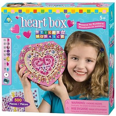 Orb Factory Heart Sticky Mosaics Box Kit
