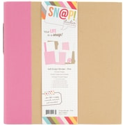 "Simple Stories Sn@p! Binder, 6"" x 8"", Pink"