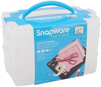 Snapware Snap 'n Stack Craft Organizer Medium Rectangle