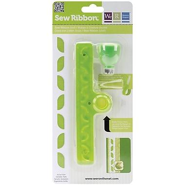We R Memory Keepers Sew Ribbon Tool & Stencil, Leaf