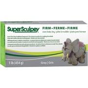 Polyform® Super Sculpey® Firm Oven Bake Clay, Gray