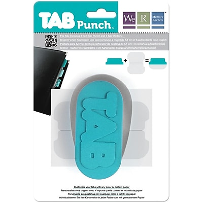 We R Memory Keepers File Tab Punch, 2