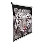 "Elite Screens® Manual SRM Series 120"" Manual Projection Screen, 4:3, White Casing"