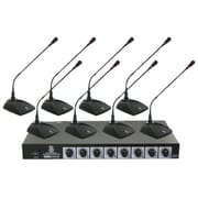 Pyle® PDWM8300 Professional Conference Desktop VHF Wireless Microphone System