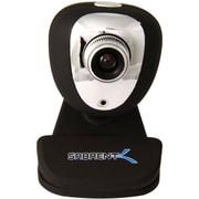 Sabrent SBT-WCCK USB Webcam With Microphone, 352 x 288, Black/Silver