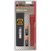 MAGLITE Pro 2.30 Hour 2-Cell AA LED Flashlight, Red