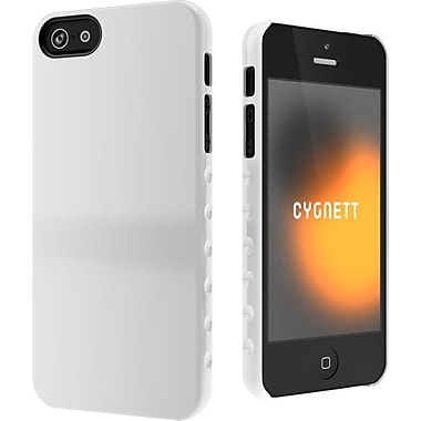 Cygnett AeroGrip Slim Soft Form Snap-on Case For iPhone 5, White