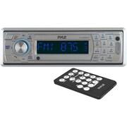 Pyle PLCD5MRBTS AM/FM Marine In-Dash Fold Down Detachable Face Radio