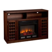 SEI Narita Media Electric Fireplace, Espresso